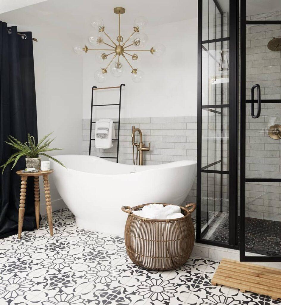 парижская фисташковая ванная