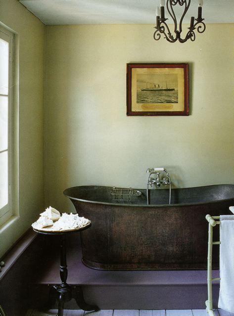чешская фисташковая ванная