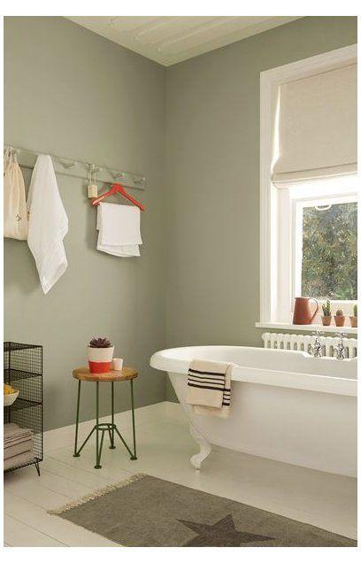 фисташковая ванная в квартире